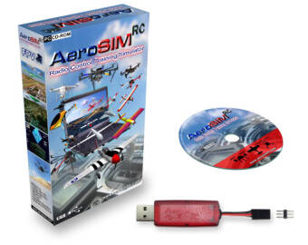 Symulator lotu modelami RC Aerosim RC Wireless